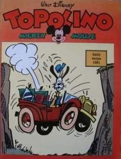 Copertina TOPOLINO n.0 - TOPOLINO 1981 STRISCE GIORNALIERE, COMIC ART