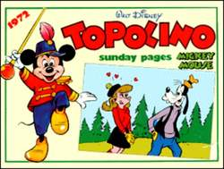 Copertina TOPOLINO n.0 - Topolino sunday pages 1972, COMIC ART