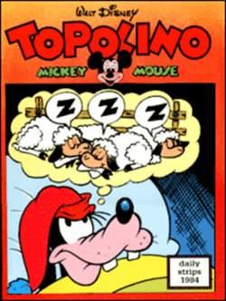 Copertina TOPOLINO n.0 - Topolino daily strips 1984, COMIC ART
