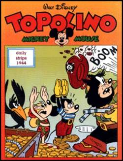 Copertina TOPOLINO n.0 - Topolino daily strips 1944, COMIC ART