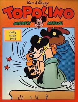 Copertina TOPOLINO n.0 - Topolino daily strips 1945, COMIC ART