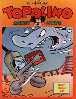 Copertina TOPOLINO n.0 - Topolino daily strips 1946, COMIC ART