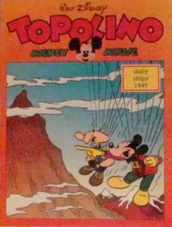 Copertina TOPOLINO n.0 - Topolino daily strips 1949, COMIC ART