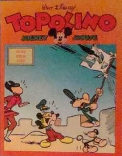 Copertina TOPOLINO n.0 - Topolino daily strips 1950, COMIC ART
