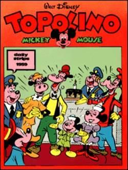 Copertina TOPOLINO n.0 - Topolino daily strips 1959, COMIC ART