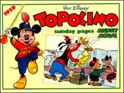 Copertina TOPOLINO n.0 - Topolino sunday pages 1959, COMIC ART