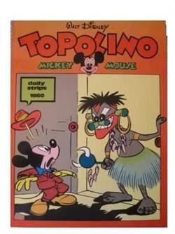 Copertina TOPOLINO n.0 - Topolino daily strips 1960, COMIC ART