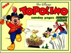 Copertina TOPOLINO n.0 - Topolino sunday pages 1960, COMIC ART