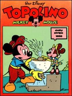 Copertina TOPOLINO n.0 - Topolino daily strips 1958, COMIC ART