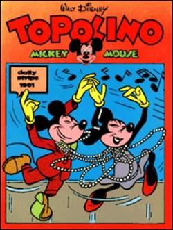 Copertina TOPOLINO n.0 - Topolino daily strips 1961, COMIC ART