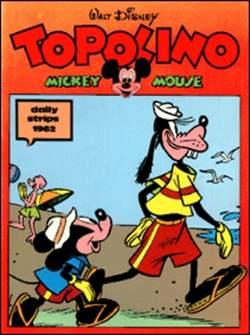 Copertina TOPOLINO n.0 - Topolino daily strips 1962, COMIC ART