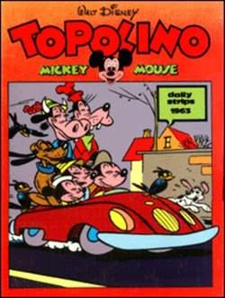 Copertina TOPOLINO n.0 - Topolino daily strips 1963, COMIC ART