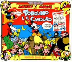 Copertina TOPOLINO e SILLY SIMPHONIES n.11 - Topolino e il canguro, COMIC ART