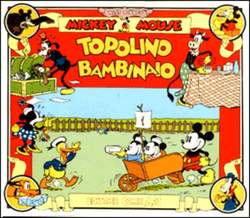 Copertina TOPOLINO e SILLY SIMPHONIES n.12 - Topolino bambinaio, COMIC ART