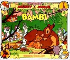 Copertina TOPOLINO e SILLY SIMPHONIES n.53 - Bambi, COMIC ART