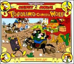 Copertina TOPOLINO e SILLY SIMPHONIES n.1 - TOPOLINO CONTRO WOLF, COMIC ART