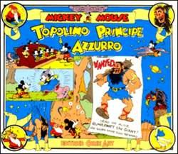 Copertina TOPOLINO e SILLY SIMPHONIES n.2 - Topolino Principe Azzurro, COMIC ART