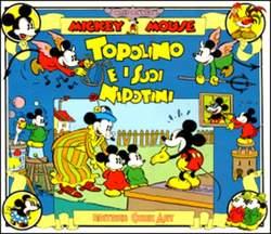 Copertina TOPOLINO e SILLY SIMPHONIES n.9 - Zio Topolino e i suoi Nipotini, COMIC ART
