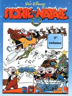 Copertina WALT DISNEY Storie di Natale n.2 - Walt Disney Storie di Natale secondo volume, COMIC ART