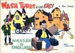 Copertina WASH TUBBS n.1 - Avventura in Kandelabra, COMIC ART