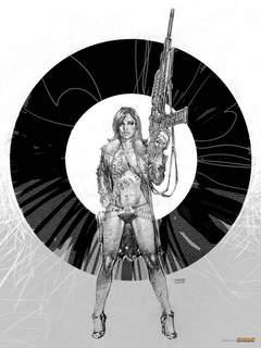 Copertina AFFICHE - POSTER n.11 - JIM LEE - Nero, COMICON EDIZIONI