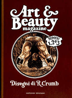 Copertina ART & BEAUTY n. - ART & BEAUTY MAGAZINE, COMICON EDIZIONI
