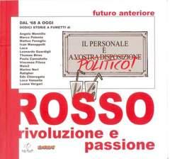 Copertina FUTURO ANTERIORE n.7 - ROSSO - RIVOLUZIONE E PASSIONE, COMICON EDIZIONI