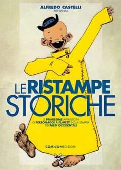 Copertina RISTAMPE STORICHE n.0 - ALFREDO CASTELLI PRESENTA: LE RISTAMPE STORICHE, COMICON EDIZIONI