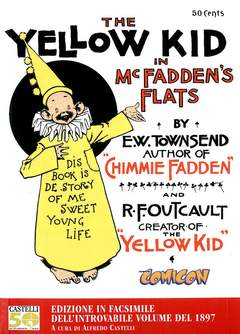 Copertina YELLOW KID n. - THE YELLOW KID IN McFADDEN'S FLATS, COMICON EDIZIONI