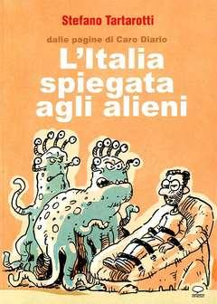 Copertina ANIMALS NOVEL n.4 - L'ITALIA SPIEGATA AGLI ALIENI, COMICOUT