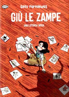 Copertina GIU' LE ZAMPE n. - UNA STORIA VERA, COMICOUT