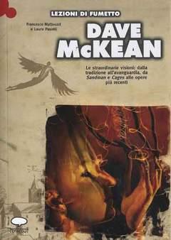 Copertina LEZIONI DI FUMETTO n.15 - DAVE MCKEAN, COMICOUT