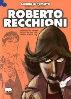 Copertina LEZIONI DI FUMETTO n.17 - ROBERTO RECCHIONI, COMICOUT