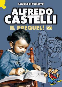 Copertina LEZIONI DI FUMETTO n.19 - ALFREDO CASTELLI, COMICOUT