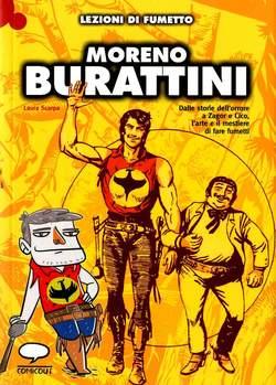 Copertina LEZIONI DI FUMETTO n.21 - MORENO BURATTINI, COMICOUT