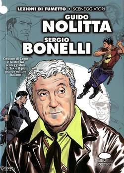 Copertina LEZIONI DI FUMETTO n.23 - GUIDO NOLITTA/SERGIO BONELLI, COMICOUT
