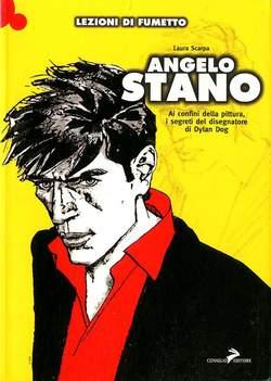 Copertina LEZIONI DI FUMETTO n.1 - ANGELO STANO, COMICOUT