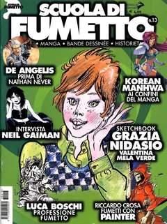 Copertina SCUOLA DI FUMETTO n.13 - SCUOLA DI FUMETTO           13, COMICOUT