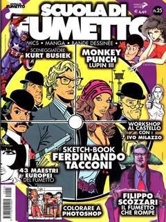 Copertina SCUOLA DI FUMETTO n.25 - SCUOLA DI FUMETTO, COMICOUT