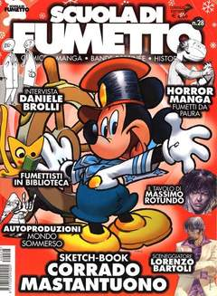 Copertina SCUOLA DI FUMETTO n.28 - SCUOLA DI FUMETTO           28, COMICOUT