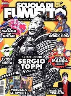 Copertina SCUOLA DI FUMETTO n.31 - SCUOLA DI FUMETTO           31, COMICOUT