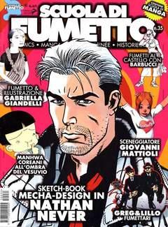 Copertina SCUOLA DI FUMETTO n.35 - SCUOLA DI FUMETTO           35, COMICOUT