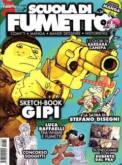 Copertina SCUOLA DI FUMETTO n.36 - SCUOLA DI FUMETTO           36, COMICOUT