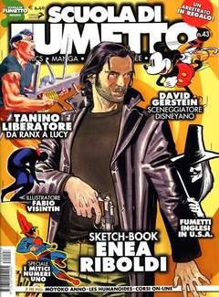 Copertina SCUOLA DI FUMETTO n.43 - SCUOLA DI FUMETTO           43, COMICOUT