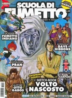 Copertina SCUOLA DI FUMETTO n.54 - SCUOLA DI FUMETTO           54, COMICOUT