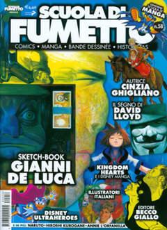 Copertina SCUOLA DI FUMETTO n.58 - SCUOLA DI FUMETTO          , COMICOUT