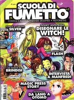 Copertina SCUOLA DI FUMETTO n.2 - SCUOLA DI FUMETTO            2, COMICOUT