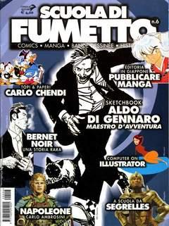 Copertina SCUOLA DI FUMETTO n.6 - SCUOLA DI FUMETTO            6, COMICOUT