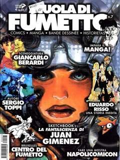 Copertina SCUOLA DI FUMETTO n.7 - SCUOLA DI FUMETTO            7, COMICOUT