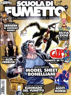 Copertina SCUOLA DI FUMETTO n.8 - SCUOLA DI FUMETTO            8, COMICOUT